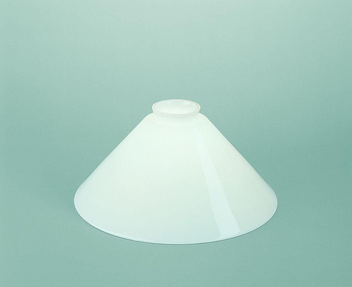 1 Lampenschirm Ersatzglas BANKERSLAMP Leuchtenglas Glasschirm Art Deco