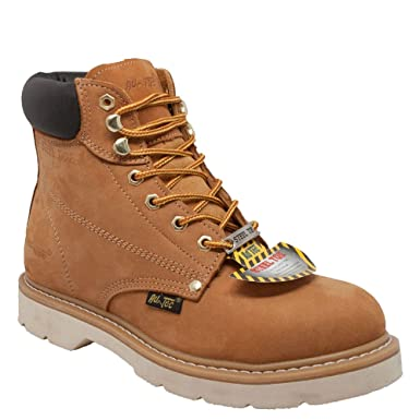fe94d9faeb5 Amazon.com: Ad Tec Men's Nubuck Leather 6