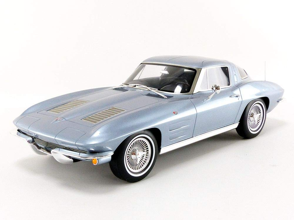 GT Spirit – Auto in Miniatura da Collezione, gt183, Grigio Blu Metal
