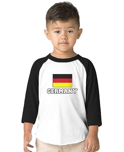 3d66497696e Amazon.com  SpiritForged Apparel Germany Flag Toddler 3 4 Raglan ...