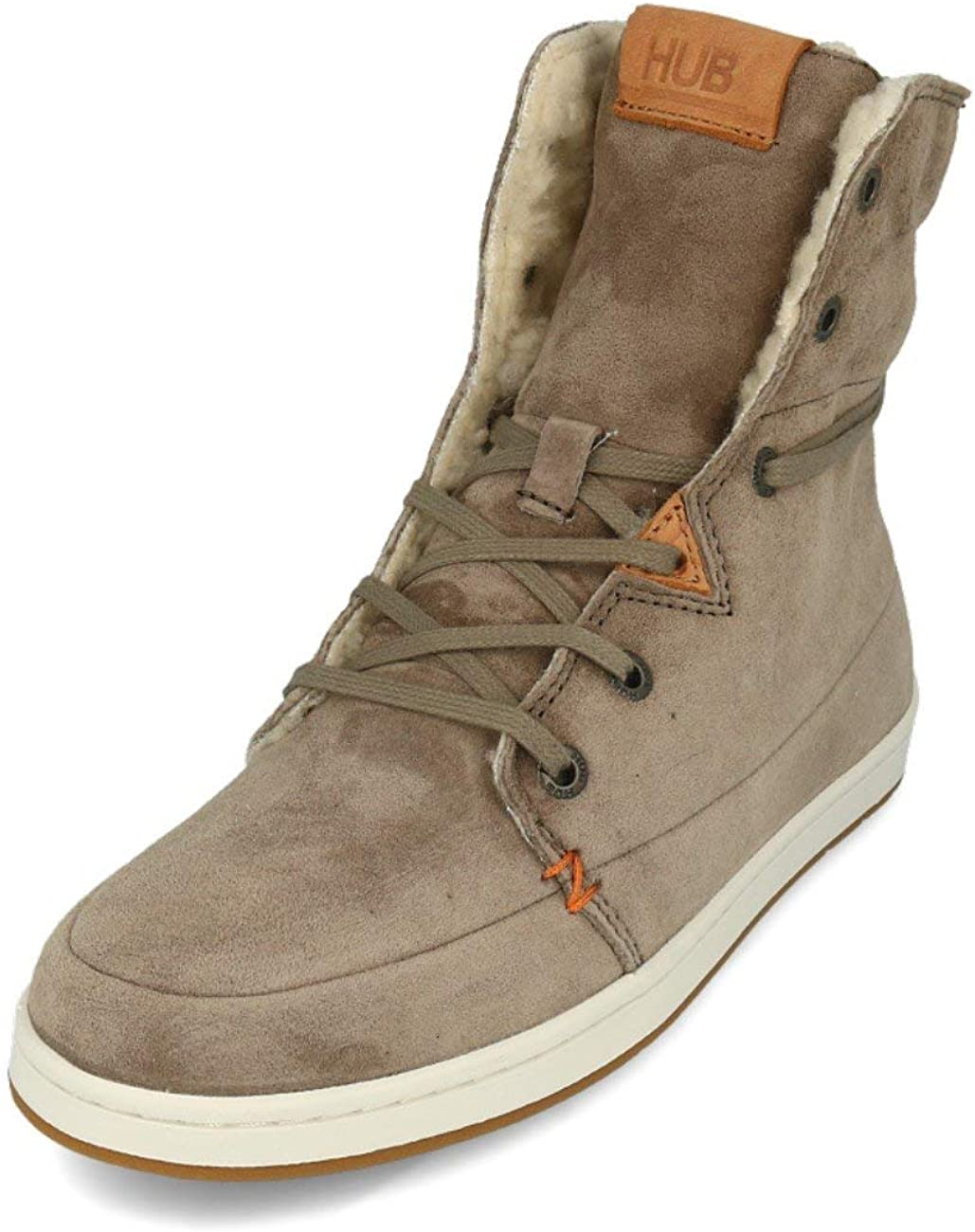 Hub Vermont N30 Nubuck Dark Taupe off White 37: Amazon.it