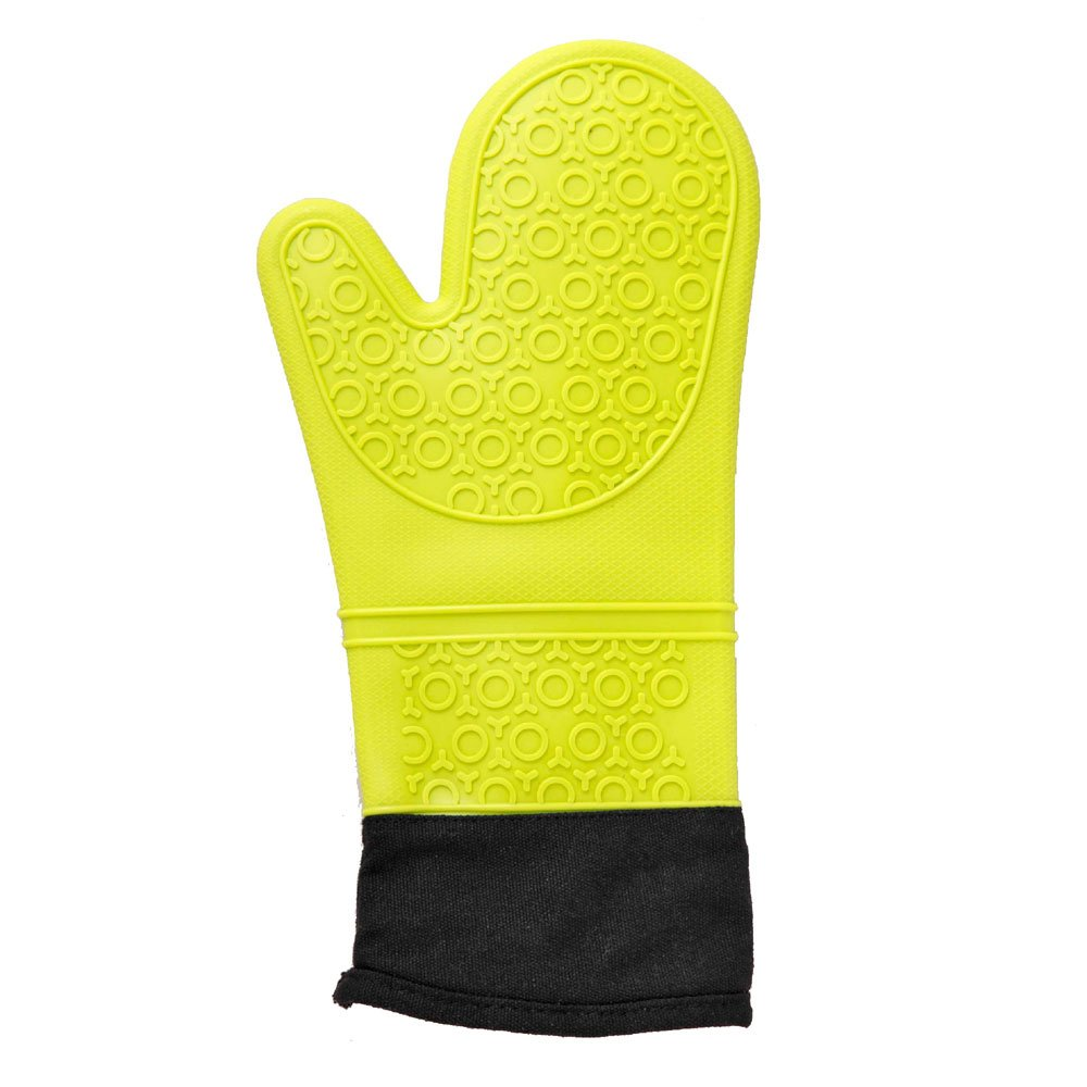Comolife Silicon Oven Mitten Heatproof Temperature 428F , With A Hole For Hanging Hook