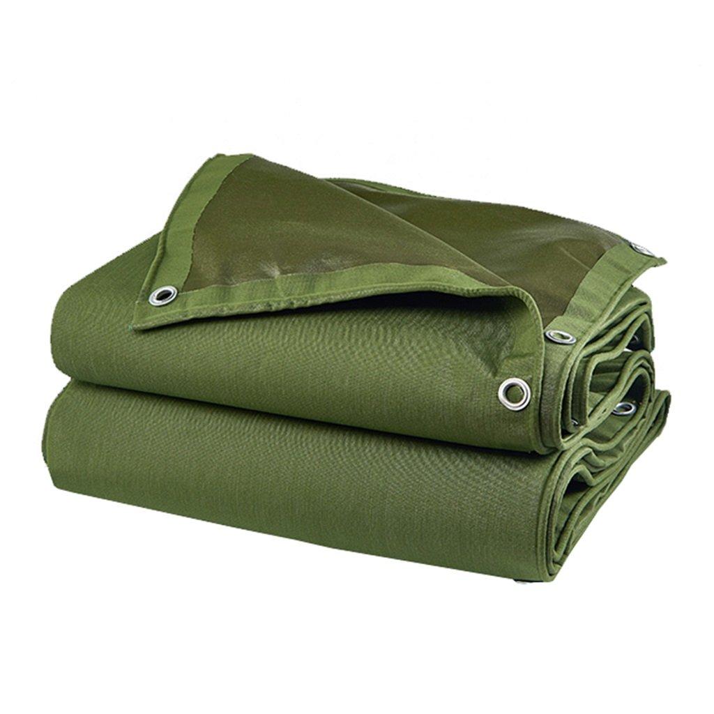 Unbekannt Grüne Dicke Wasserdichte Sonnenschutz-Plane Zelt Tuch REGT Plane Auto-Abdeckungen Eine Vielzahl Von Größen