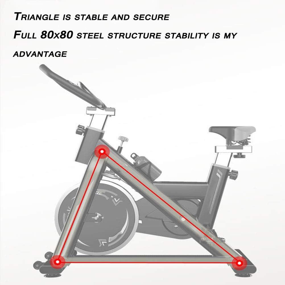 BF-DCGU Bicicleta con la Resistencia Ajustable, Ultra silencioso ...