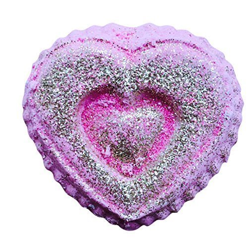 Be Mine Heart Shaped Bath Bomb Set Of Three By Soapie Shoppe