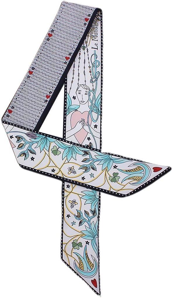 Foulard Cheveux Style Frais pour les Femmes Lunji Bandeau Cheveux Femme Tarot s/érie