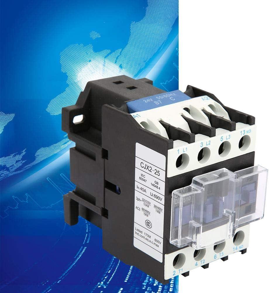 CJX2-2510 Contacteur /électrique industriel 25A 24VDC
