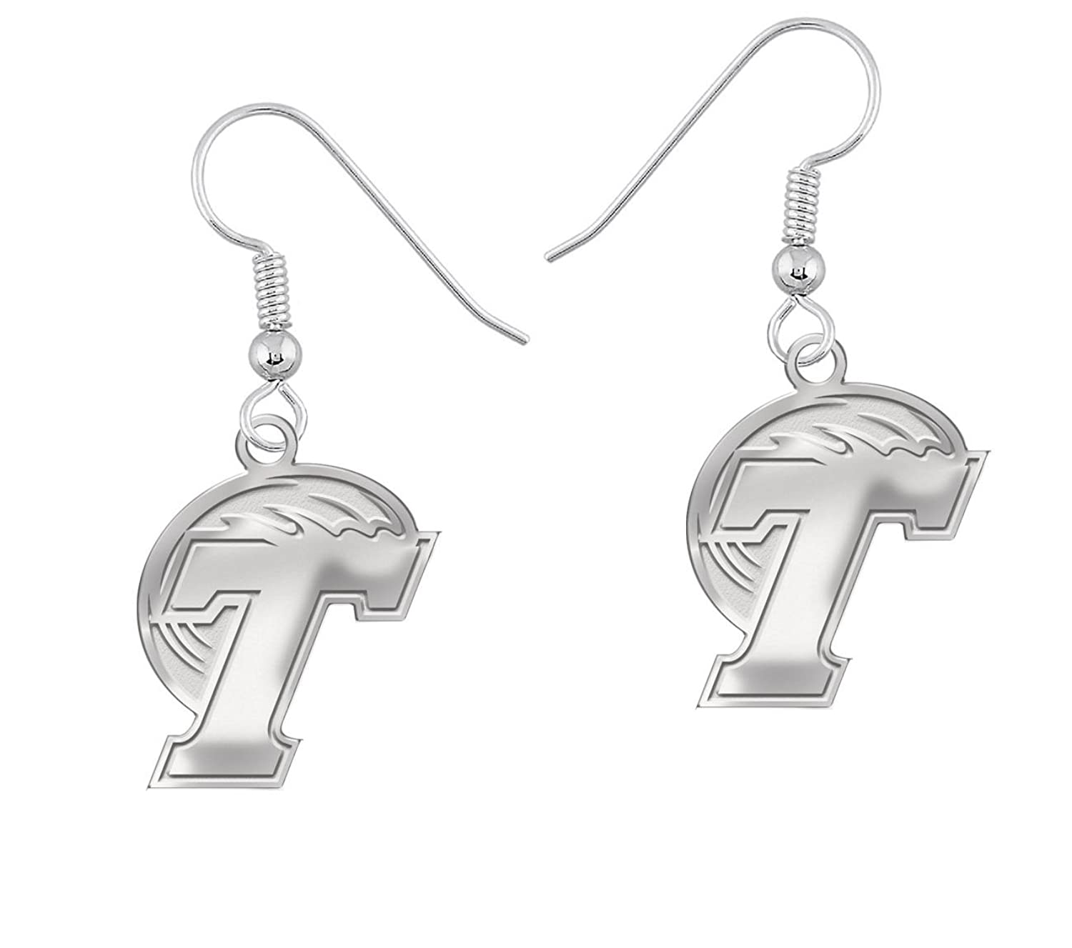 Home college tulane green wave tulane green wave silver plated - Amazon Com Tulane Green Wave Logo Natural Finish Drop Earrings Jewelry