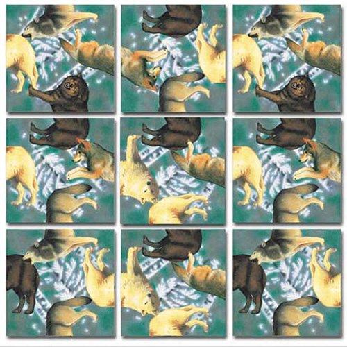 - B.Dazzle Scramble Squares: Wolves