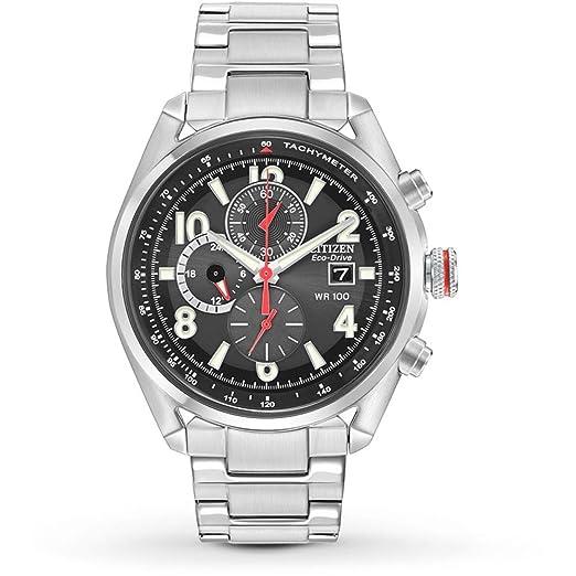 Citizen Eco-Drive Reloj de Hombre Eco-Drive 43mm Correa de Acero CA0368-56E: Amazon.es: Relojes
