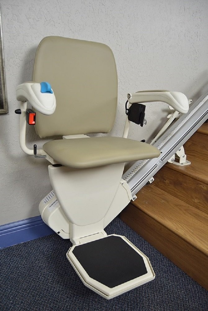 Nautilus Stair Lift - Lifetime Warranty on Motor & Circuit Board