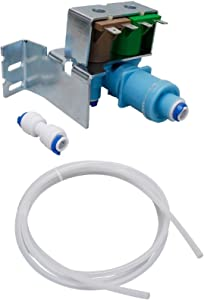 Seneca River Trading Refrigerator Water Valve Kit for Whirlpool Sears AP5263471, PS3497634, W10408179