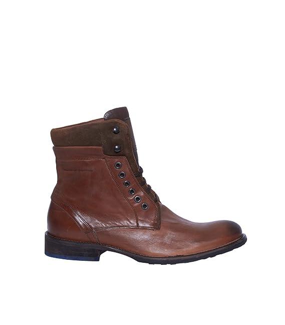 Floris Van pompón Hombre Boots - Botas Botines lana - Marrón whiskey calf 47: Amazon.es: Ropa y accesorios