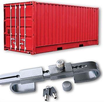 Security Hardened Steel Container Refrigerator Trailer Door