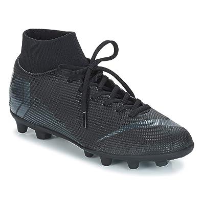promo code de110 50b36 Nike Unisex-Erwachsene Superfly 6 Elite FG Fitnessschuhe, Schwarz Black  001, 44 EU