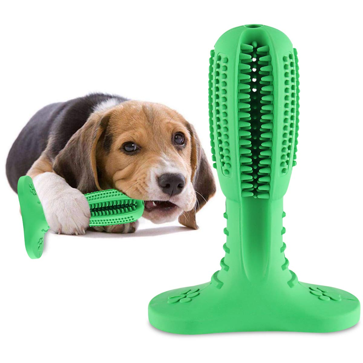 Juguete masticable para perros.