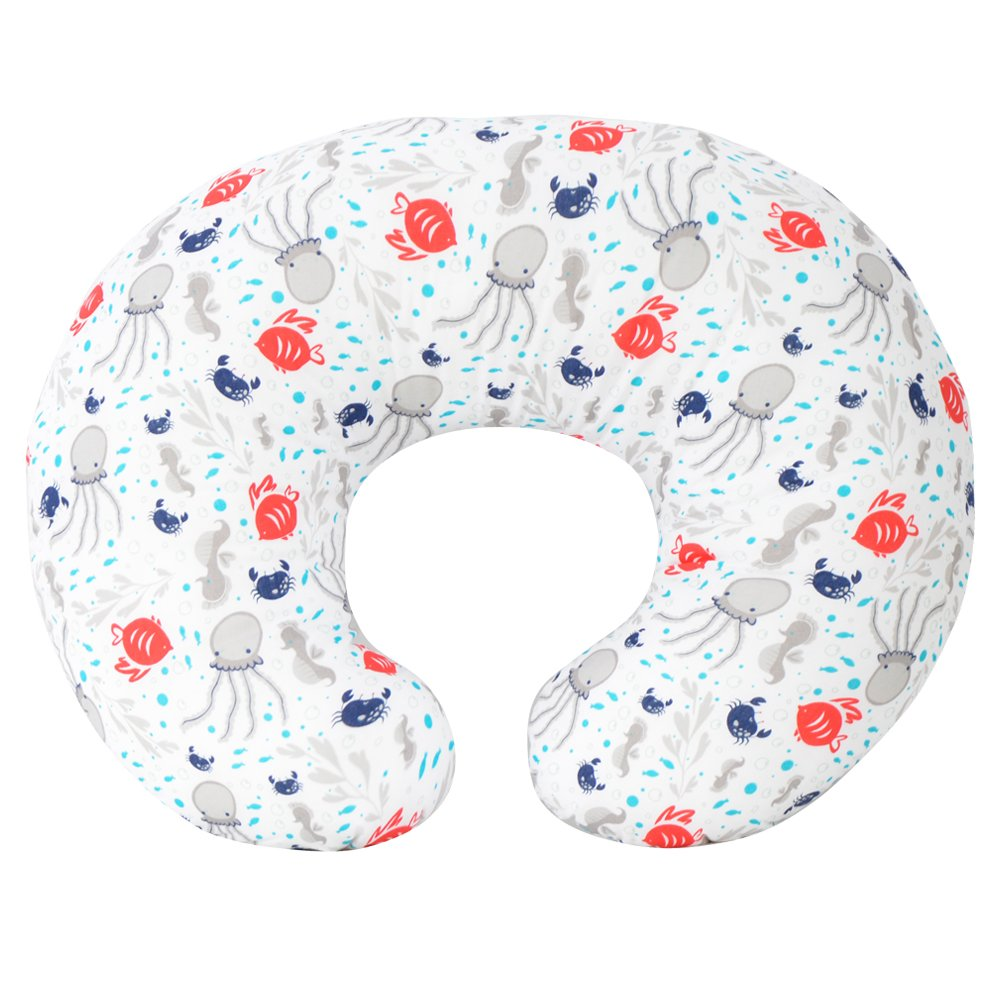 Kidiway 3112 Kidilove Nursing pillow self cover Sea Creature Blue (New)