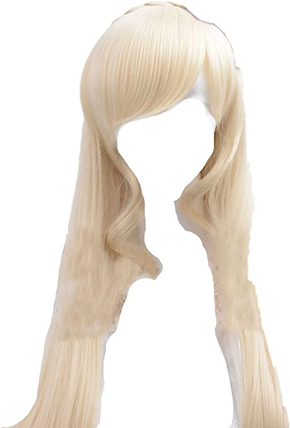 "40/""100cm Super Dangan-Ronpa 2 Sonia Nevermind Blonde Cosplay Wig"