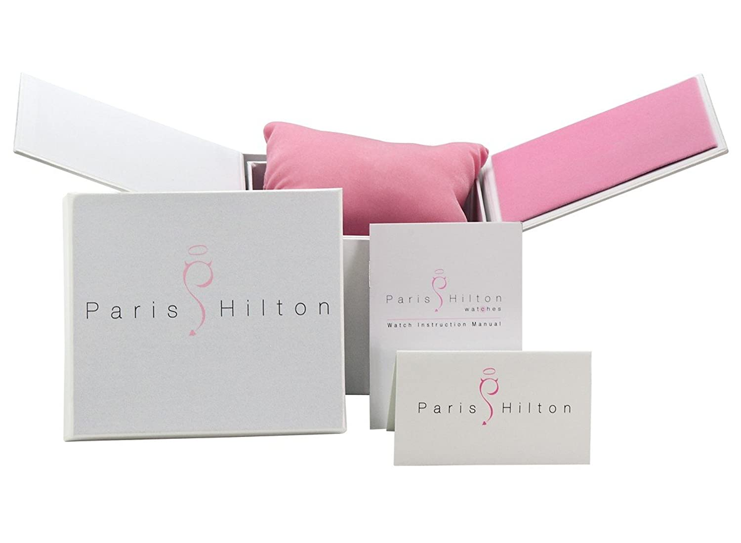 Paris Hilton Small Square Elegante-Damenuhr Design Highlight
