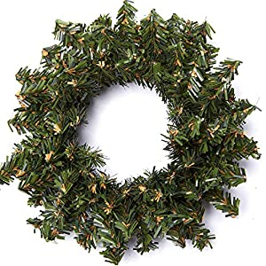 Factory Direct Craft Group of Artificial Holiday Pine Wreaths 32