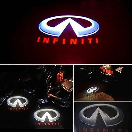 S.P. ® - Luz LED para puerta de coche, iluminación para entrada de ...