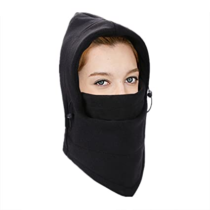 Winter Thermal Fleece Balaclava Hood Hat Ski Bike Windstopper Face Mask  Neck Warmer Motorcycle Helmet Cap 38cce635e77