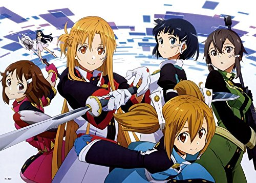Anime Sword Art Online Sao - High Grade Laminated Poster