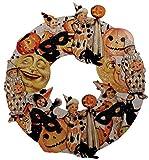Bethany Lowe Halloween Vintage Style Wooden Wreath