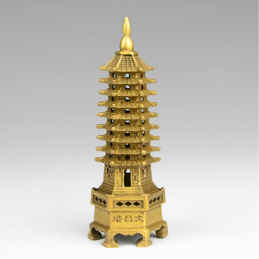White Crystal Tower Carving Buddhism Temple 9 Floor Tower stupa Pagoda
