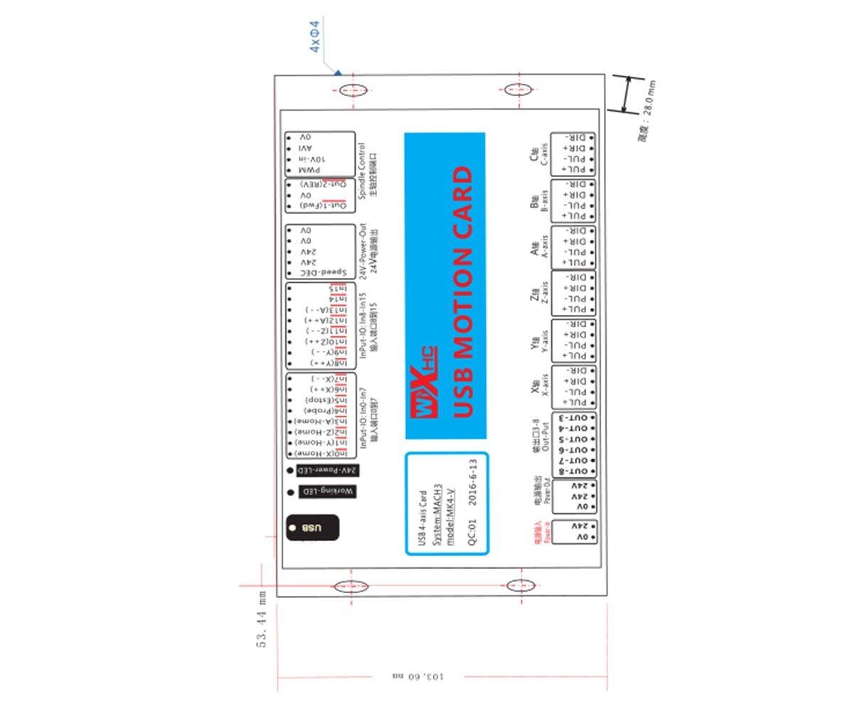Power, Garden & Hand Tools KEHUASHINA CNC Controller 3 Axis