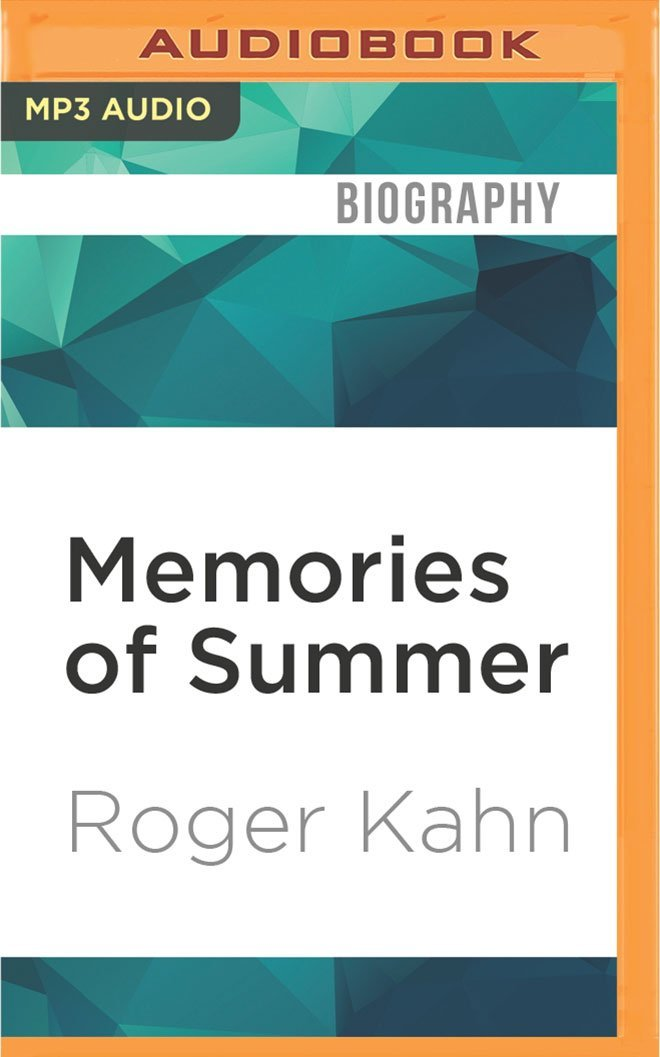 Memories of Summer: When Baseball was an Art, and Writing About it a Game pdf epub
