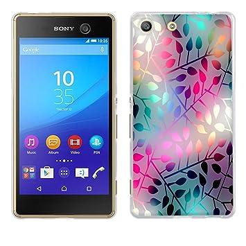 Funda Sony Xperia M5, Fubaoda [vetro traslucido] Silicona Fundas para Xperia M5 (E5603 E5606 E5653) Carcasa M5 (E5603 E5606 E5653) Silicona Funda Case