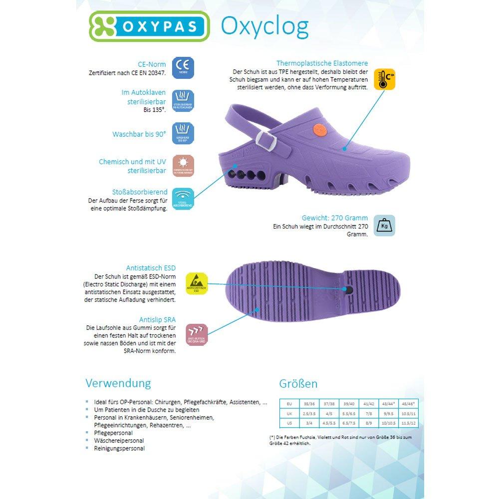 Sabot autoclavable Oxypas Oxyclog ESD SRA