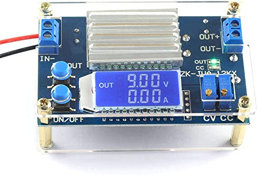 Case 12V 10A LCD Display DC-DC Step Down Voltage Reducer Stabilizer Converter