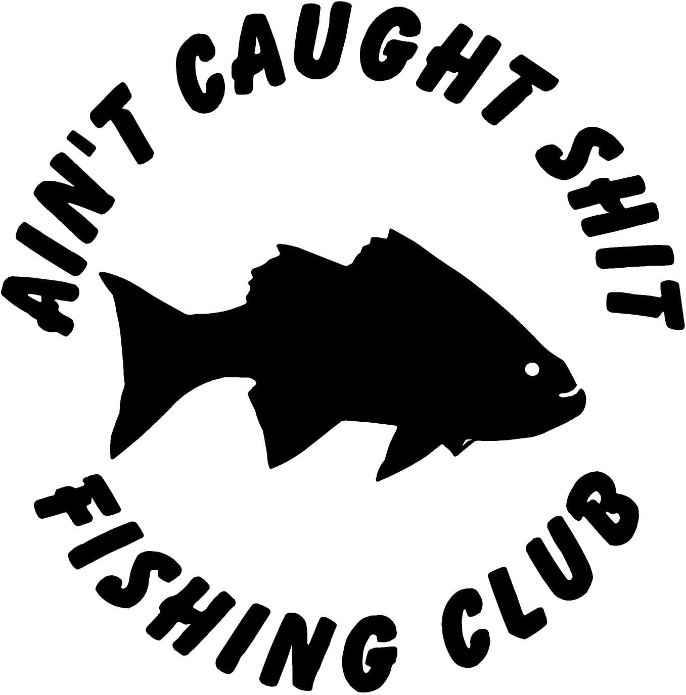 Fishing Thing Funny fish  Bumper Sticker Decal