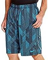Nike Boy's Dri-Fit Fly Knurling Training Shorts Blue Lagoon Strike/Black 839163 407