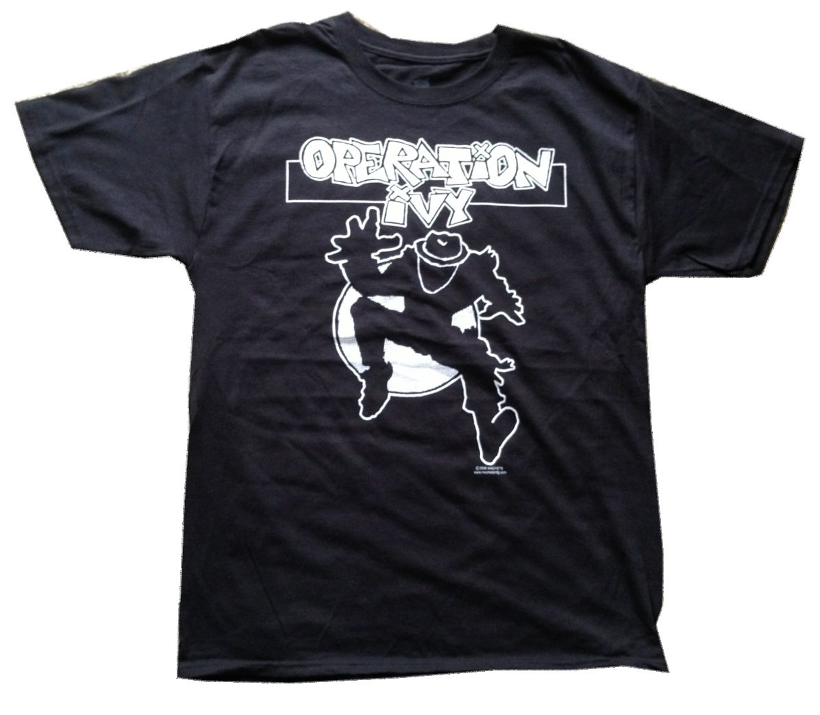 Operation Ivy Ska Man Black Tshirt