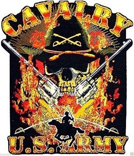 Cavalry Box - Army Cavalry Skull Bumper Sticker Toolbox Sticker Laptop Sticker
