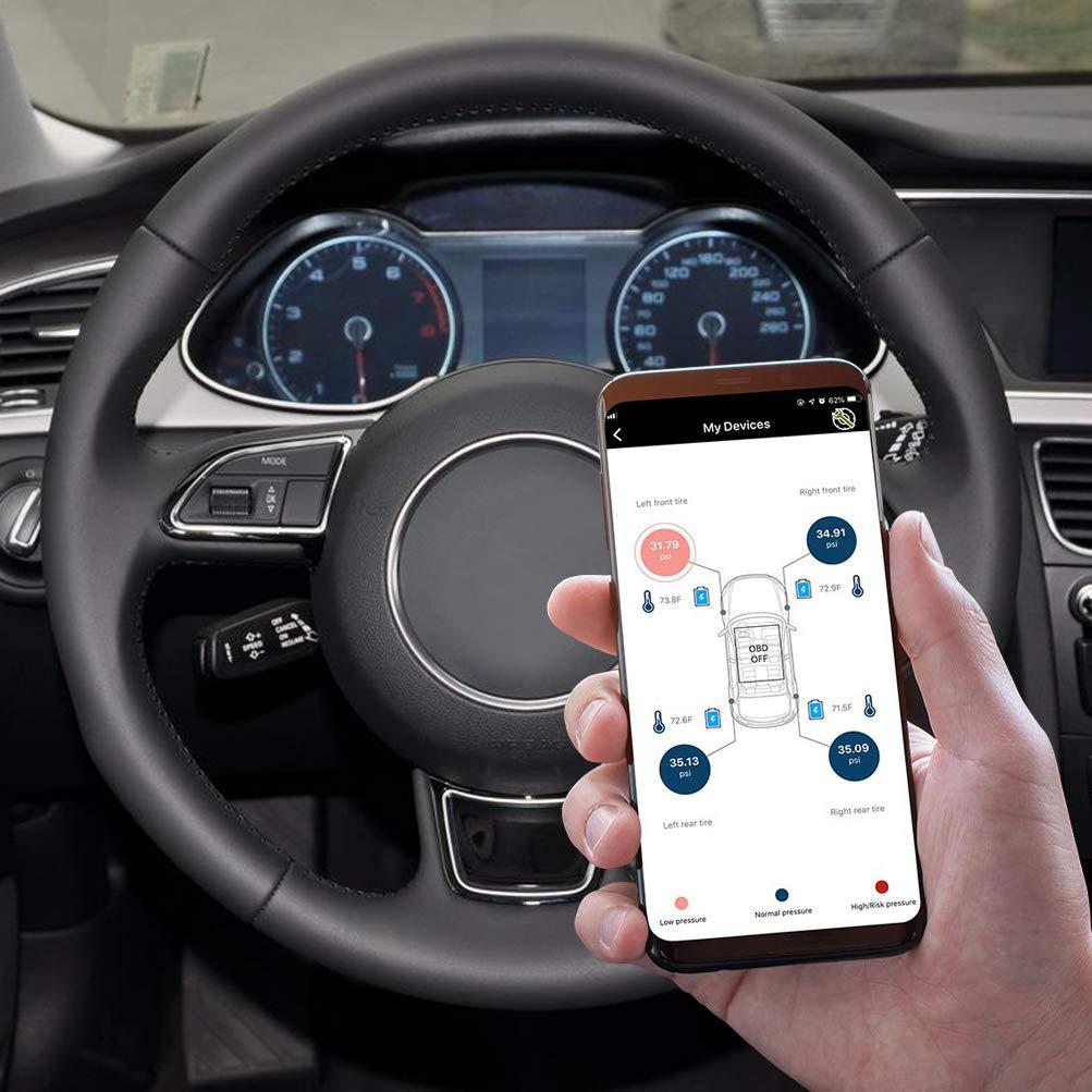 AUTDER Honeywell Professional OBD Bluetooth Scanner Strumento di scansione diagnostica OBD2 Lettore di codice Car Health Monitor per dispositivi iOS e Android