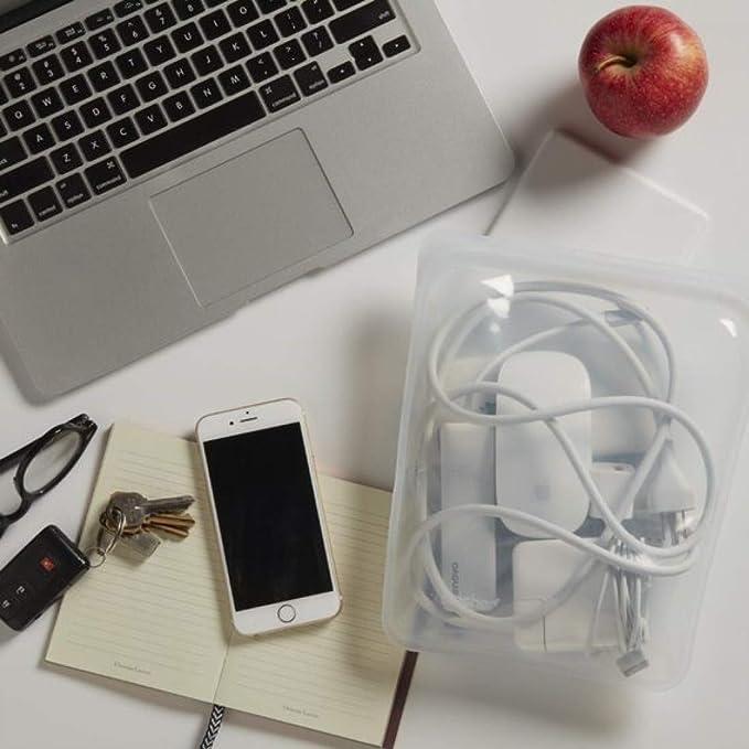 Amazon.com: Stasher - Bolsa reutilizable de silicona para ...