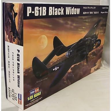 Amazon.com: Hobby Boss P-61B Negro Viuda Avión Modelo ...