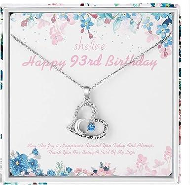 Amazon.com: 93 cumpleaños regalos para mujeres – acero ...