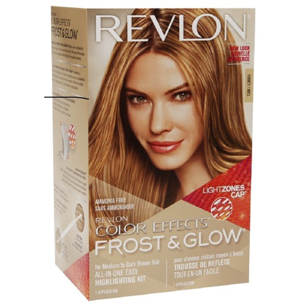 Revlon Colorsilk Color Effects Frost and Glow Hair Highlights, At-Home Hair Dye Kit for Natural, Color-Treated & Permed Hair, Blonde, 1 Count : Beauty