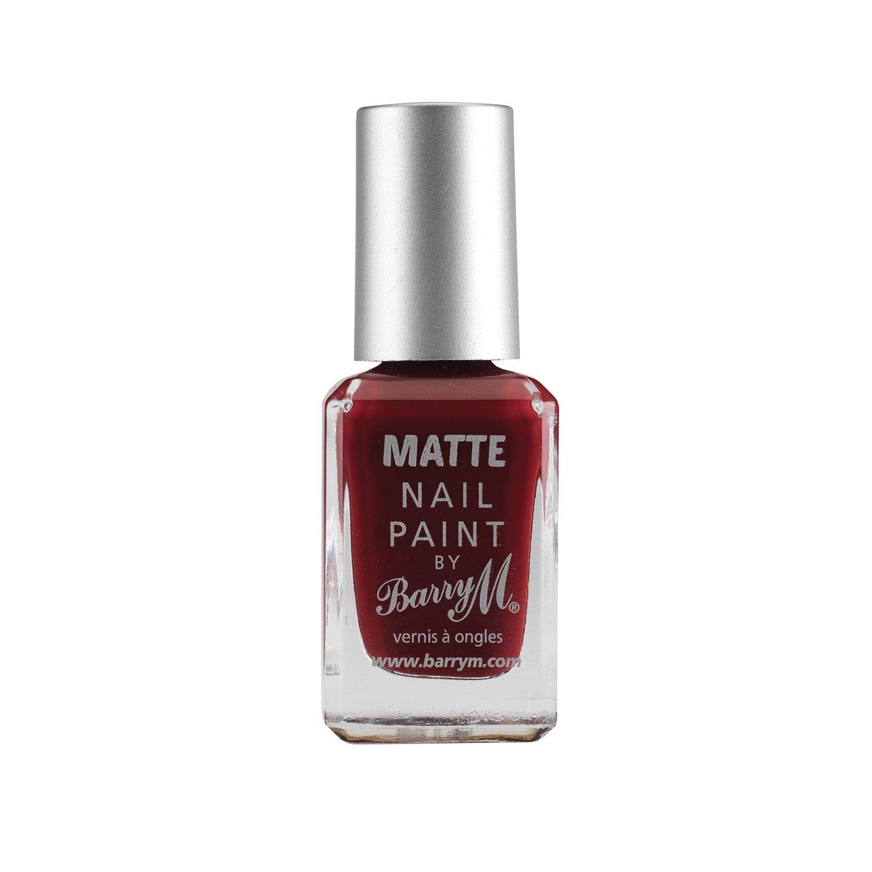 Barry M Cosmetics Matte Nail Paint, Crush: Amazon.co.uk: Beauty