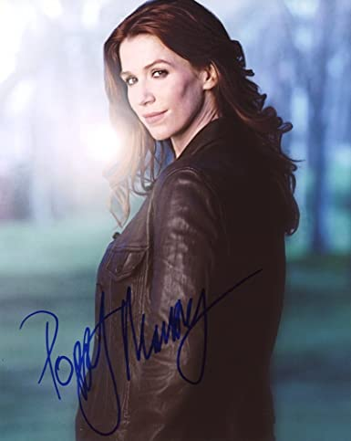 Poppy Montgomery Without A Trace Autograph Signed 8x10 Photo At