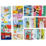 #4: Birthday Cards- Birthday Wishes Cards [36 Designs] - 36 PCS Blank Cards - White Envelopes Included, A