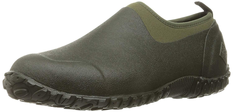 Muck Boot Mens Muckster II Low All Purpose Lightweight Shoes (8 US) (Moss/Green)