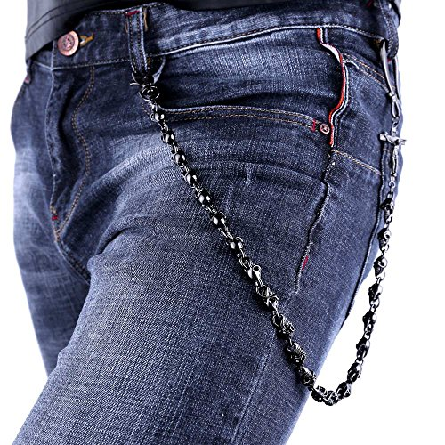 U7 Gothic Skull Trouser Wallet product image