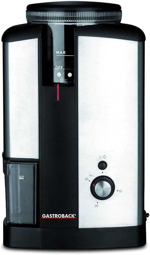 Gastroback 42602 Molinillo de café eléctrico semiprofesional con ...