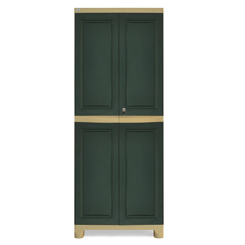 Nilkamal Freedom FB1 Big Storage Cabinet (Green and Olive Green ...